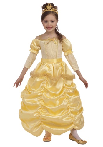 Girl Princess Costumes Beauty and the Beast Princess