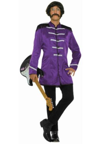 Image of Adult Purple British Explosion Costume