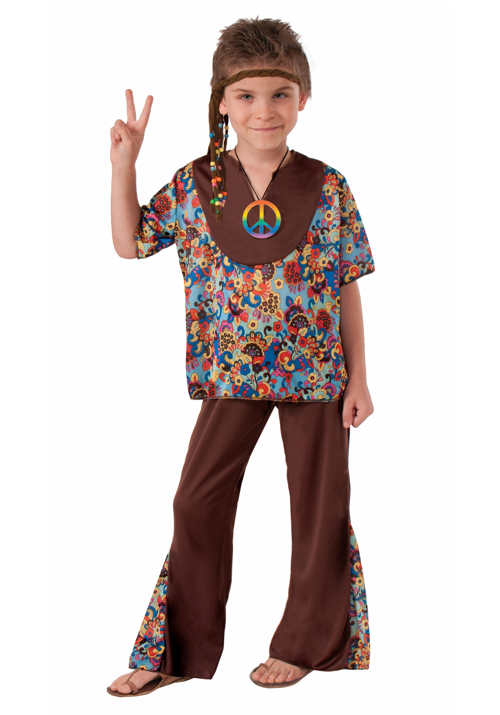 Hippie Boy Costume  sc 1 st  Halloween Costumes : hippie costume kid - Germanpascual.Com