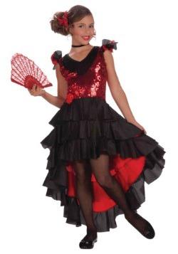 Girls Spanish Dancer Costume