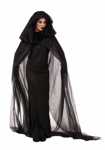 Click Here to buy Womens Dark Sorceress Dress from HalloweenCostumes, CDN Funds