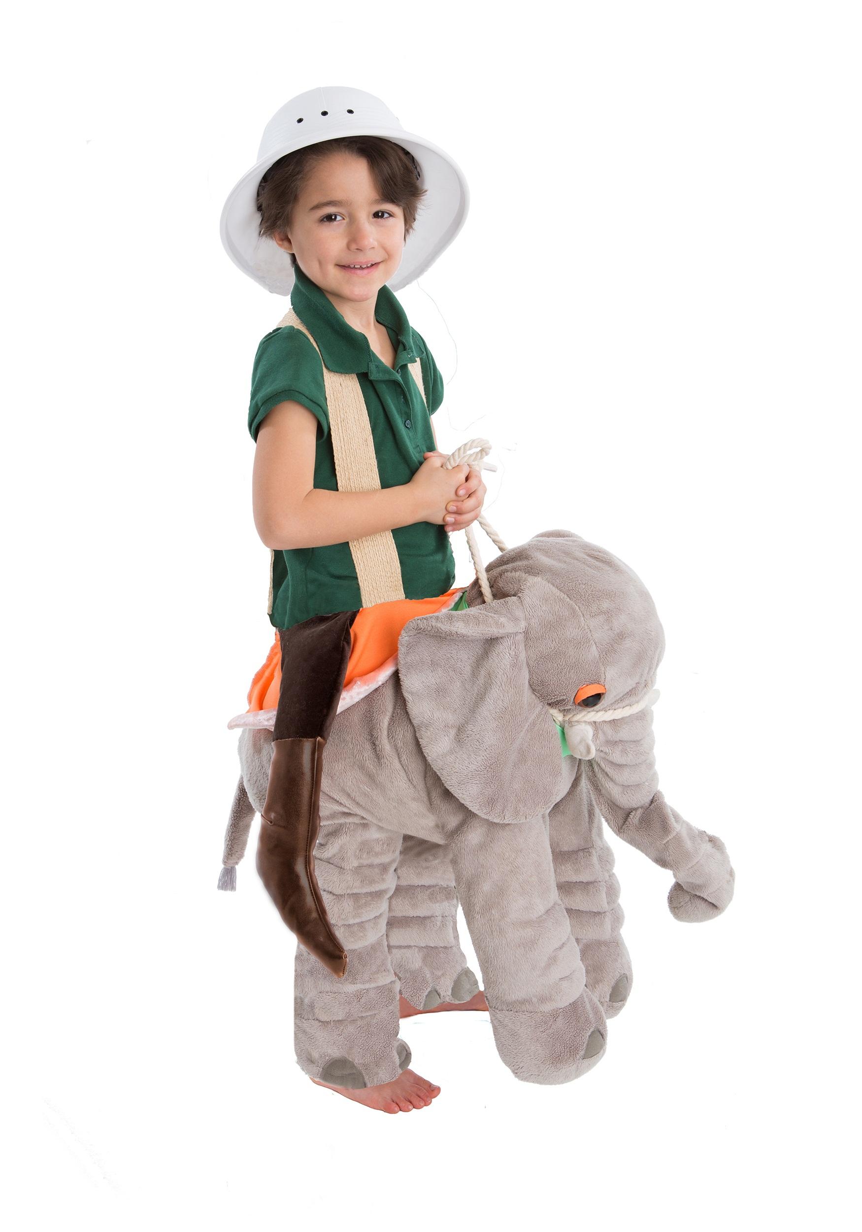 elephant costumes - adult, child elephant halloween costumes