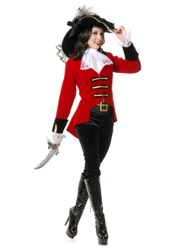 Womens Regal Pirate Lady Costume By: Charades for the 2015 Costume season.