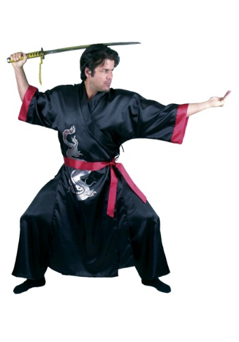 Black Samurai Adult Costume By: Charades for the 2015 Costume season.
