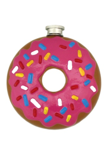 Click Here to buy Donut Flask from HalloweenCostumes, USA Funds & Shipping