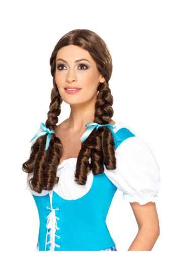 Adult Deluxe Kansas Girl Wig By: Smiffys for the 2015 Costume season.