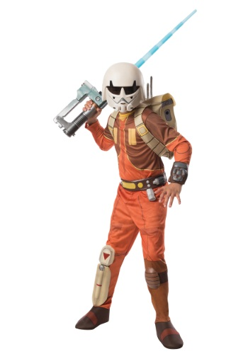 Kids Deluxe Ezra Star Wars Rebels Costume By: Rubies for the 2015 Costume season.