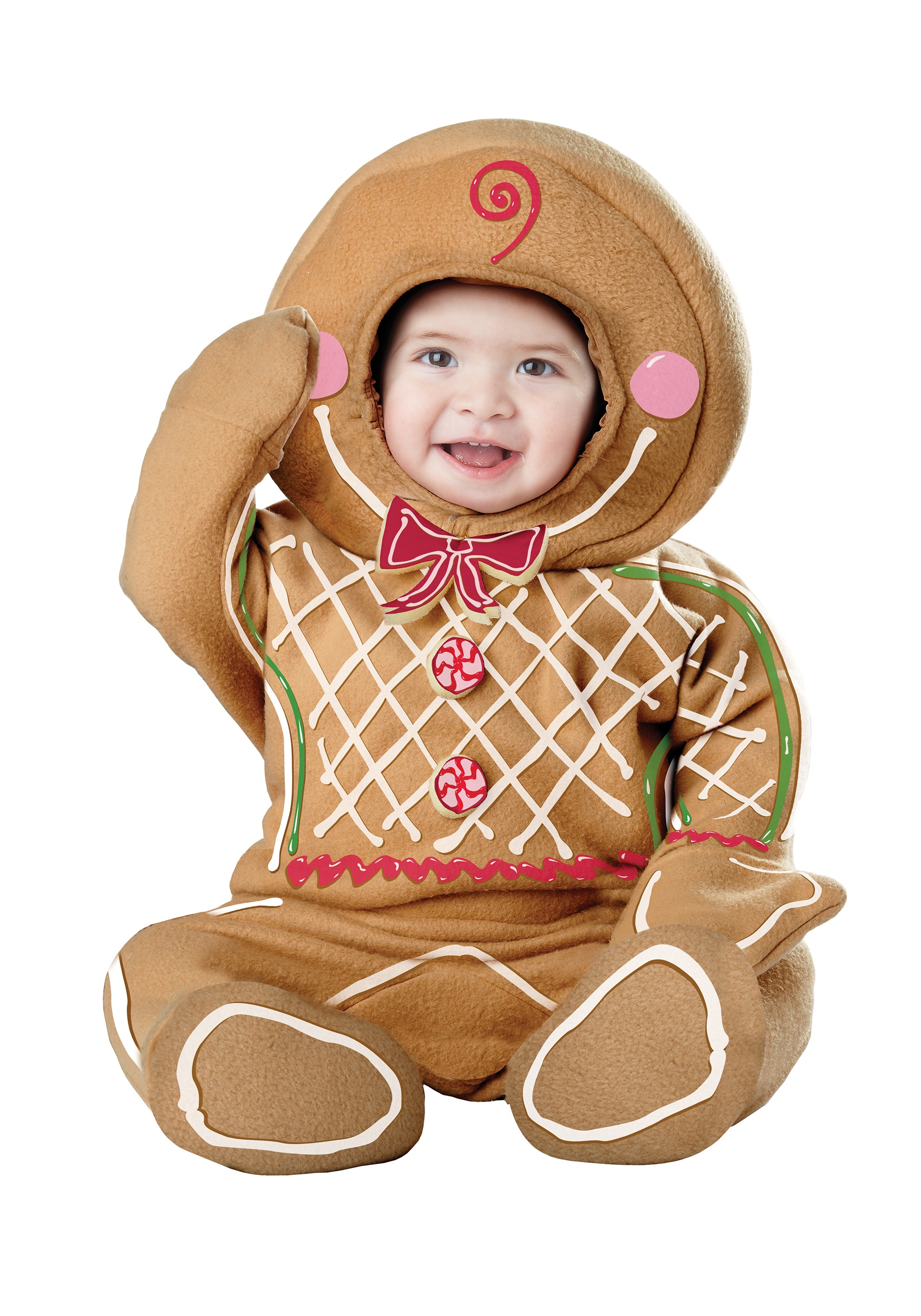 sc 1 st  Halloween Costumes & Infant Gingerbread Man Costume