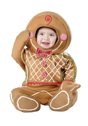 Click Here to buy Baby Gingerbread Man Costume from HalloweenCostumes, CDN Funds