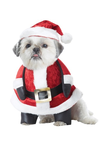Santa Pup Costume for Dogs