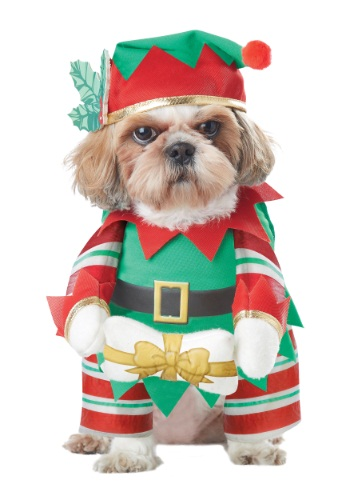 Elf Pup Dog Costume By: California Costumes for the 2015 Costume season.