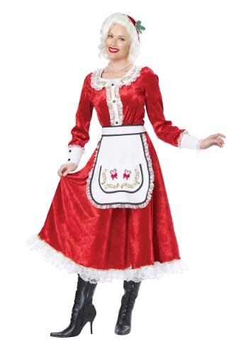 Click Here to buy Classic Mrs. Claus Costume from HalloweenCostumes, USA Funds & Shipping