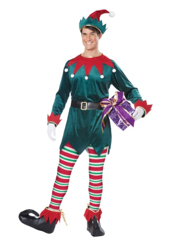 Click Here to buy Adult Christmas Elf Costume from HalloweenCostumes, USA Funds & Shipping
