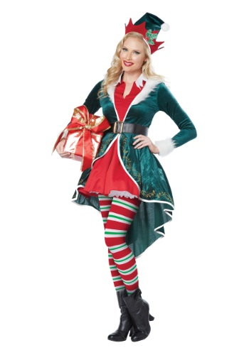 Women's Sexy Elf Costume By: California Costumes for the 2015 Costume season.