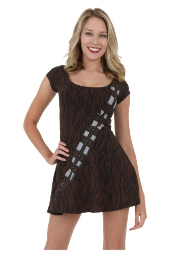 Star Wars Chewbacca Skater Dress By: Mighty Fine for the 2015 Costume season.