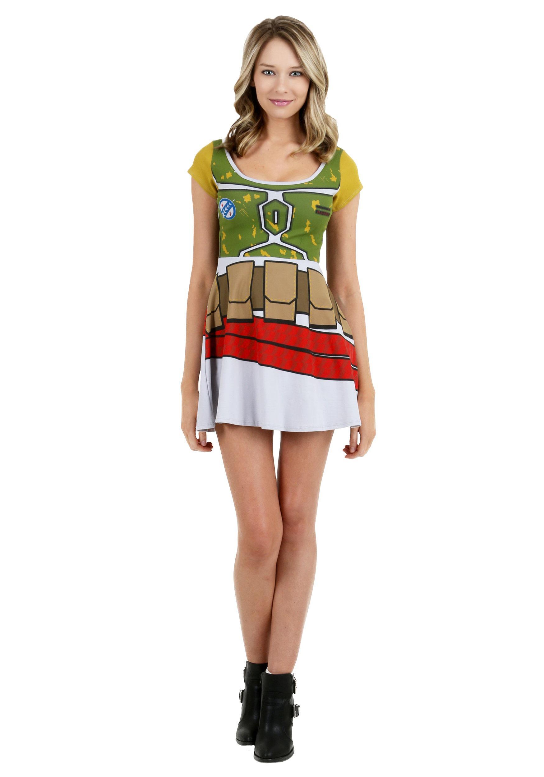 Star Wars Boba Fett Skater Dress MFA5217JKJ1