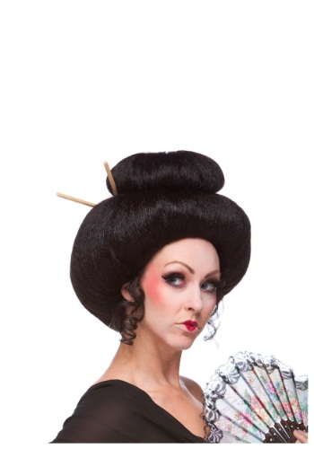 Deluxe Japanese Lady Wig By: Westbay Inc for the 2015 Costume season.