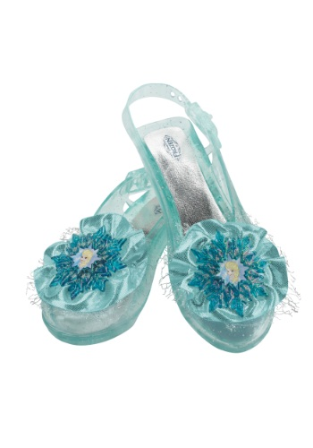 Click Here to buy Frozen Elsas Shoes from HalloweenCostumes, CDN Funds