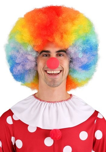 Deluxe Jumbo Clown Wig By: Westbay Inc for the 2015 Costume season.