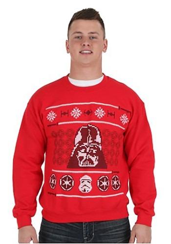 Image of Vader Ugly Xmas Sweatshirt