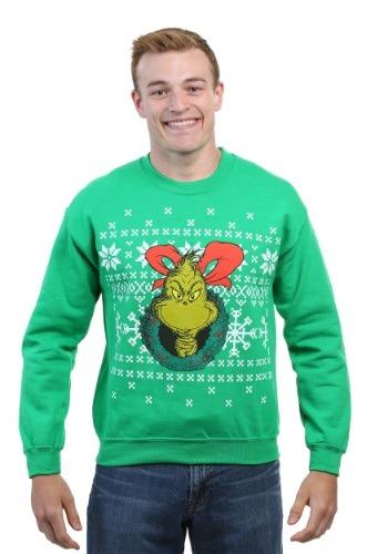 The Grinch Ugly Xmas Sweatshirt