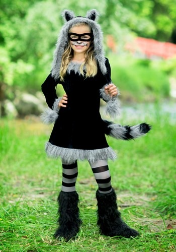 Sweet Raccoon Girls Costume By: Fun World for the 2015 Costume season.