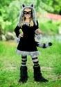 Sweet Raccoon Girls Costume new