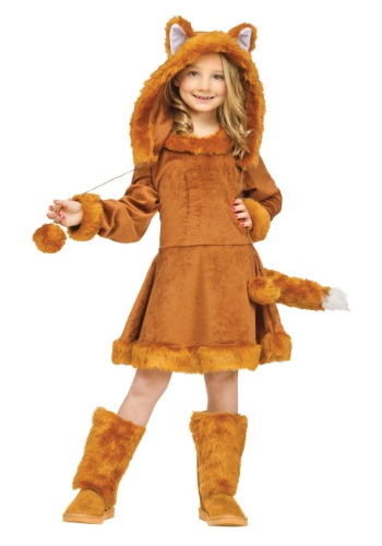 Sweet Girls Fox Costume By: Fun World for the 2015 Costume season.