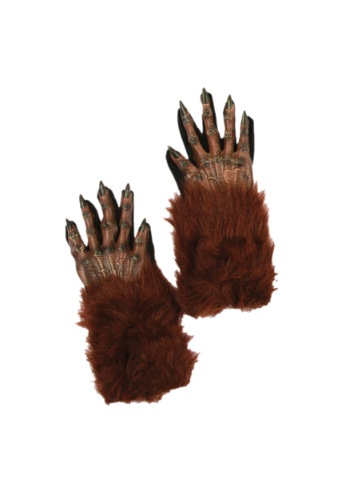 Brown Werewolf Gloves By: Fun World for the 2015 Costume season.