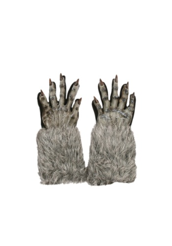Grey Werewolf Gloves By: Fun World for the 2015 Costume season.