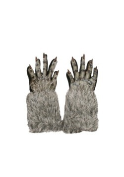 Grey Werewolf Gloves