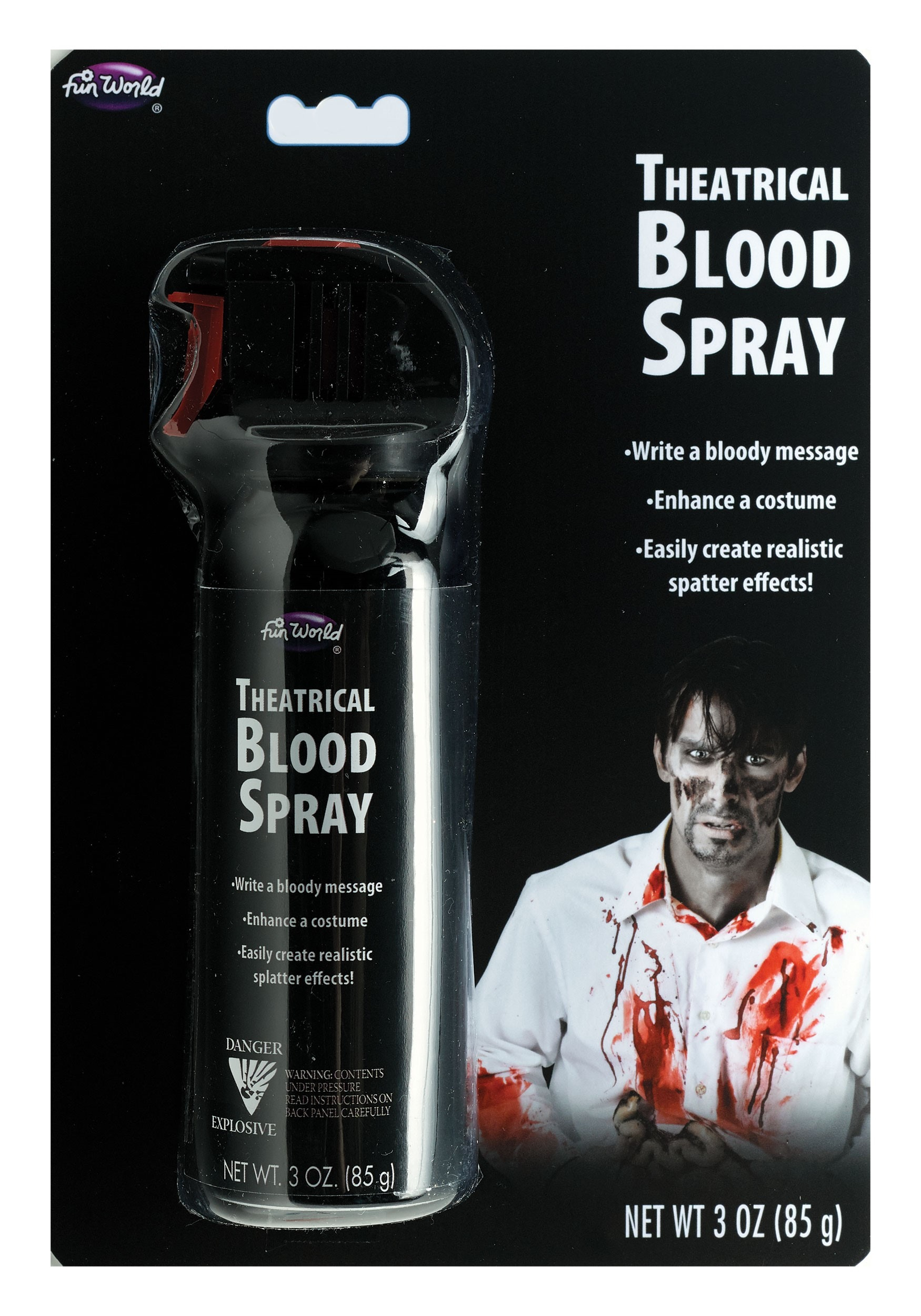 Aerosol Blood Writer