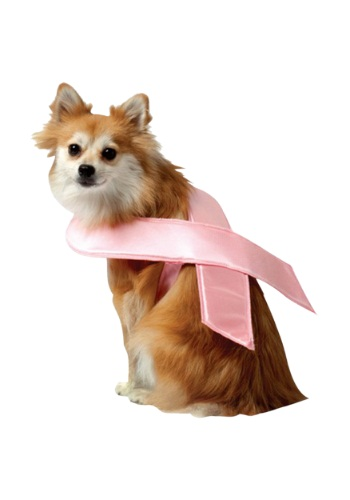 Image of Pink Ribbon Dog Costume