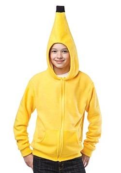 Teen Banana Hoodie
