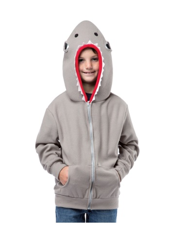 Click Here to buy Kids Shark Hooded Sweatshirt from HalloweenCostumes, USA Funds & Shipping