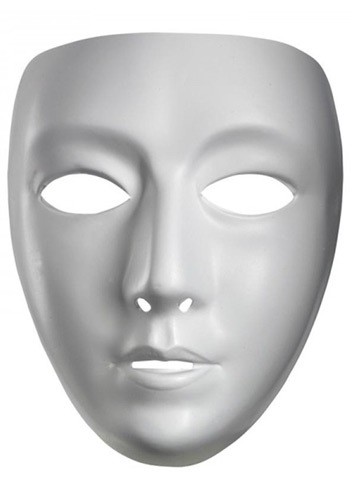 Blank Female Mask By: Disguise for the 2015 Costume season.