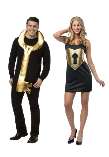 Lock and Key Couples Costume (Couples Costumes)