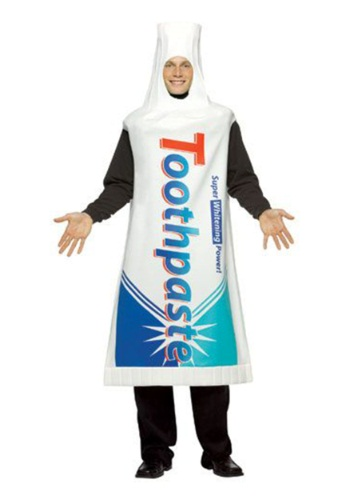 Tooth (Toothpaste Costumes)