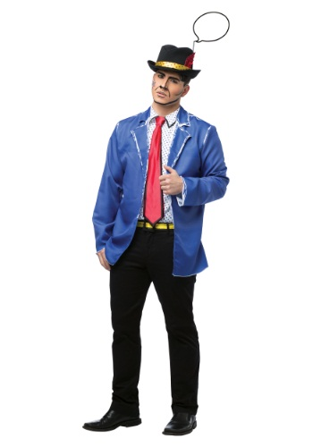 Image of Adult Pop Art Guy Costume