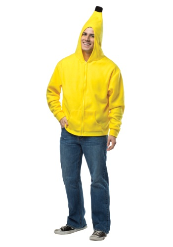 Plus Size Adult Banana Hoodie By: Rasta Imposta for the 2015 Costume season.