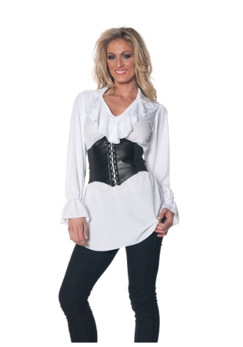 Ruffled Pirate Blouse By: Underwraps for the 2015 Costume season.