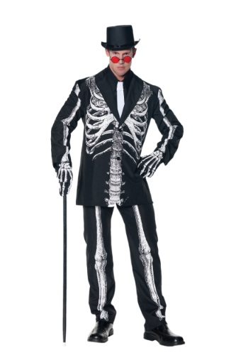 Bone Daddy Skeleton Suit Costume UN28390-XL