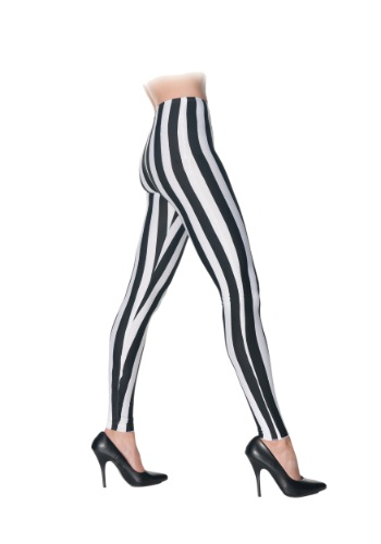 Black & White Striped Leggings By: Underwraps for the 2015 Costume season.