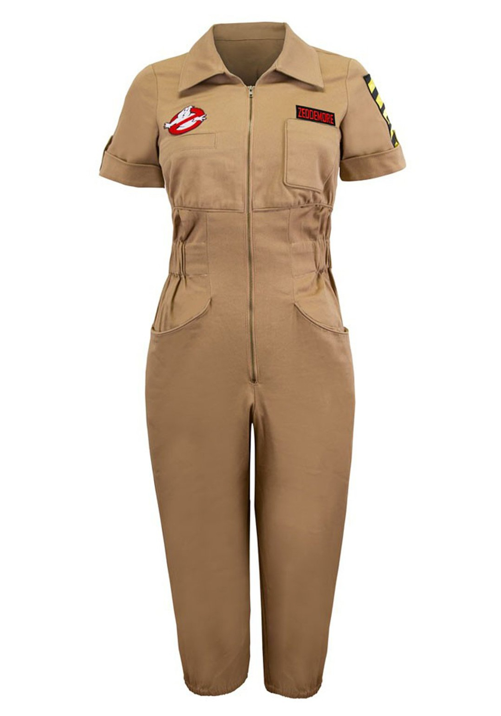 Image of Womens Ghostbusters Venkman Romper Costume