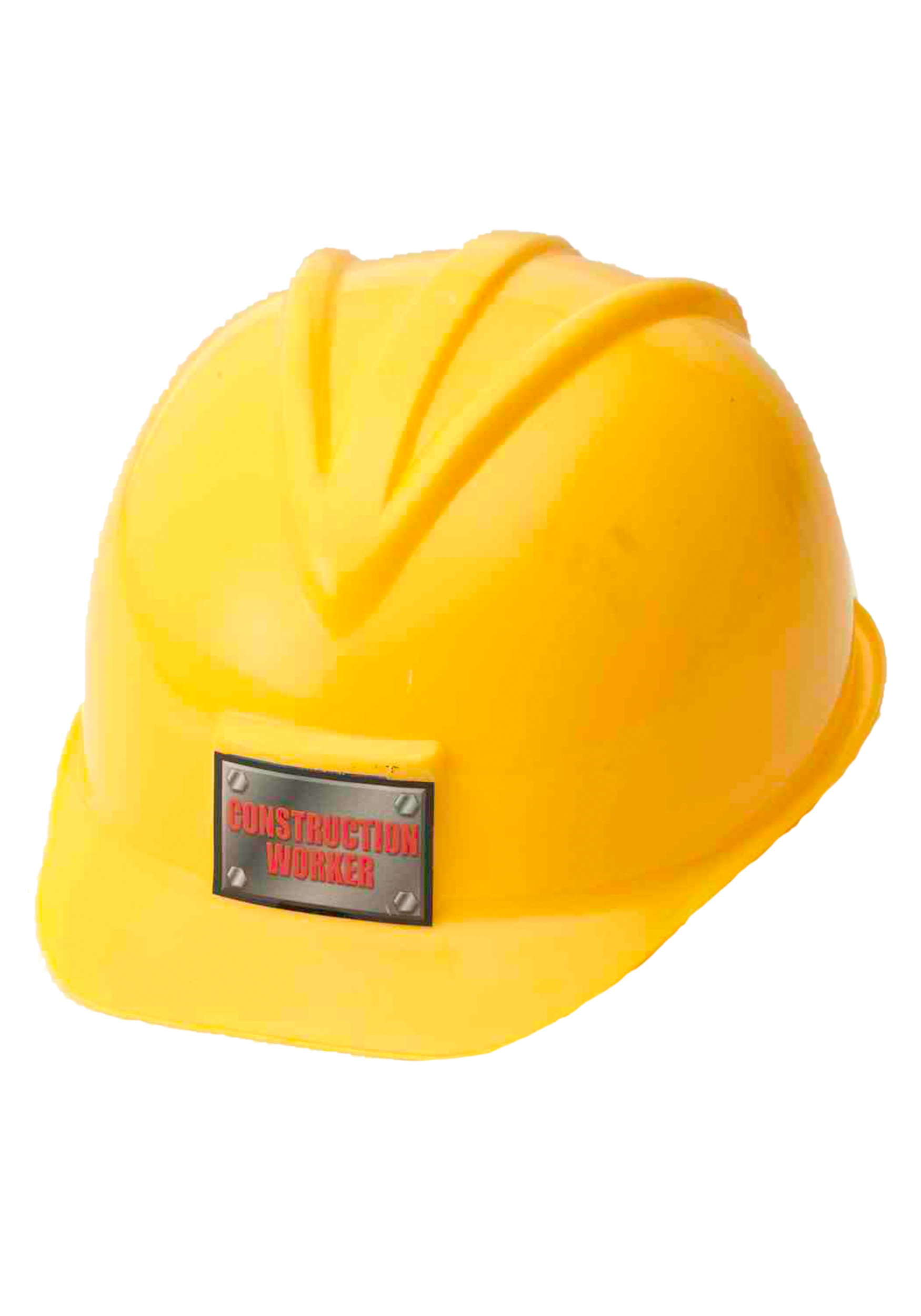 Yellow hard hat fancy dress