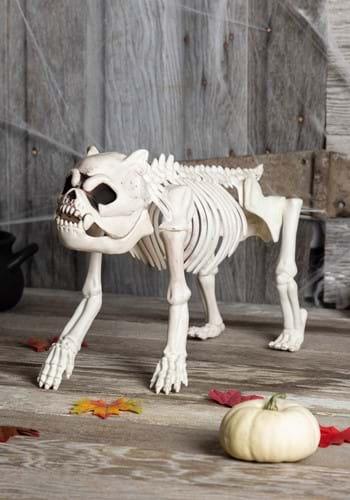 Image of Bones the Hungry Hound Skeleton Dog