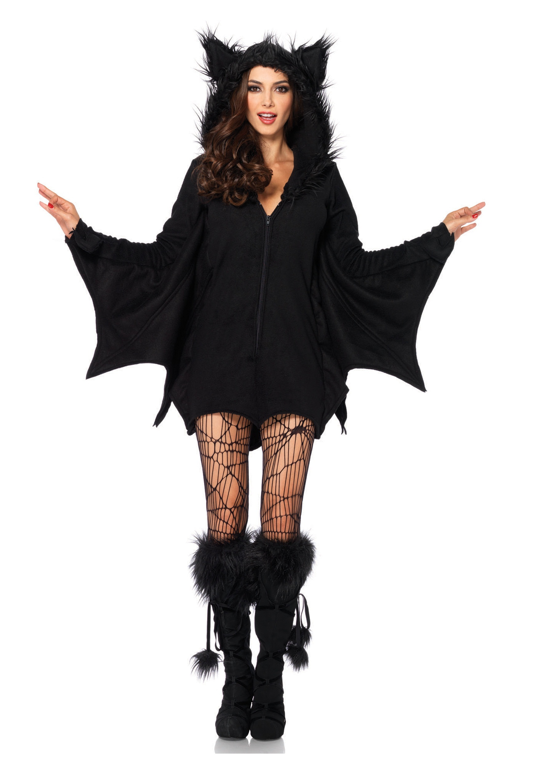 plus,size,cozy,bat,adult,costume
