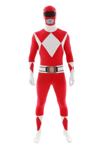Click Here to buy Power Rangers: Red Ranger Morphsuit from HalloweenCostumes, USA Funds & Shipping