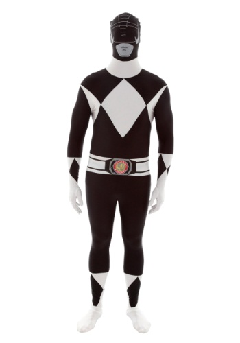 Click Here to buy Power Rangers: Black Ranger Morphsuit from HalloweenCostumes, CDN Funds