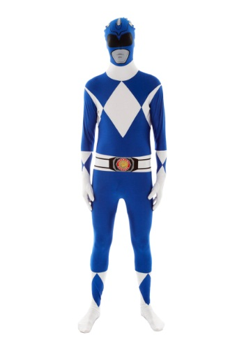 Click Here to buy Power Rangers: Blue Ranger Morphsuit from HalloweenCostumes, CDN Funds